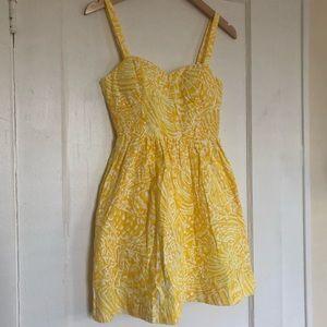 Lilly Pulitzer Yellow Sundress